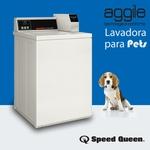 Lavadora Vertical para Roupas de PET