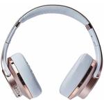 Headphone Xtrax Duo Bt Rosê Fm / Nfc / Msd