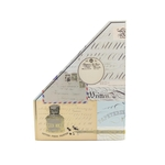Porta Revista Vintage Map Collage - Punch Studio